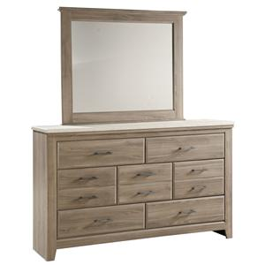 Vendor 855 Stonehill Dresser and Mirror