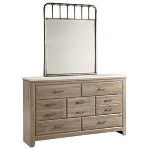 Standard Furniture Stonehill Dresser and Mirror