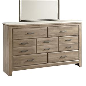 Standard Furniture Stonehill 7 Drawer Dresser