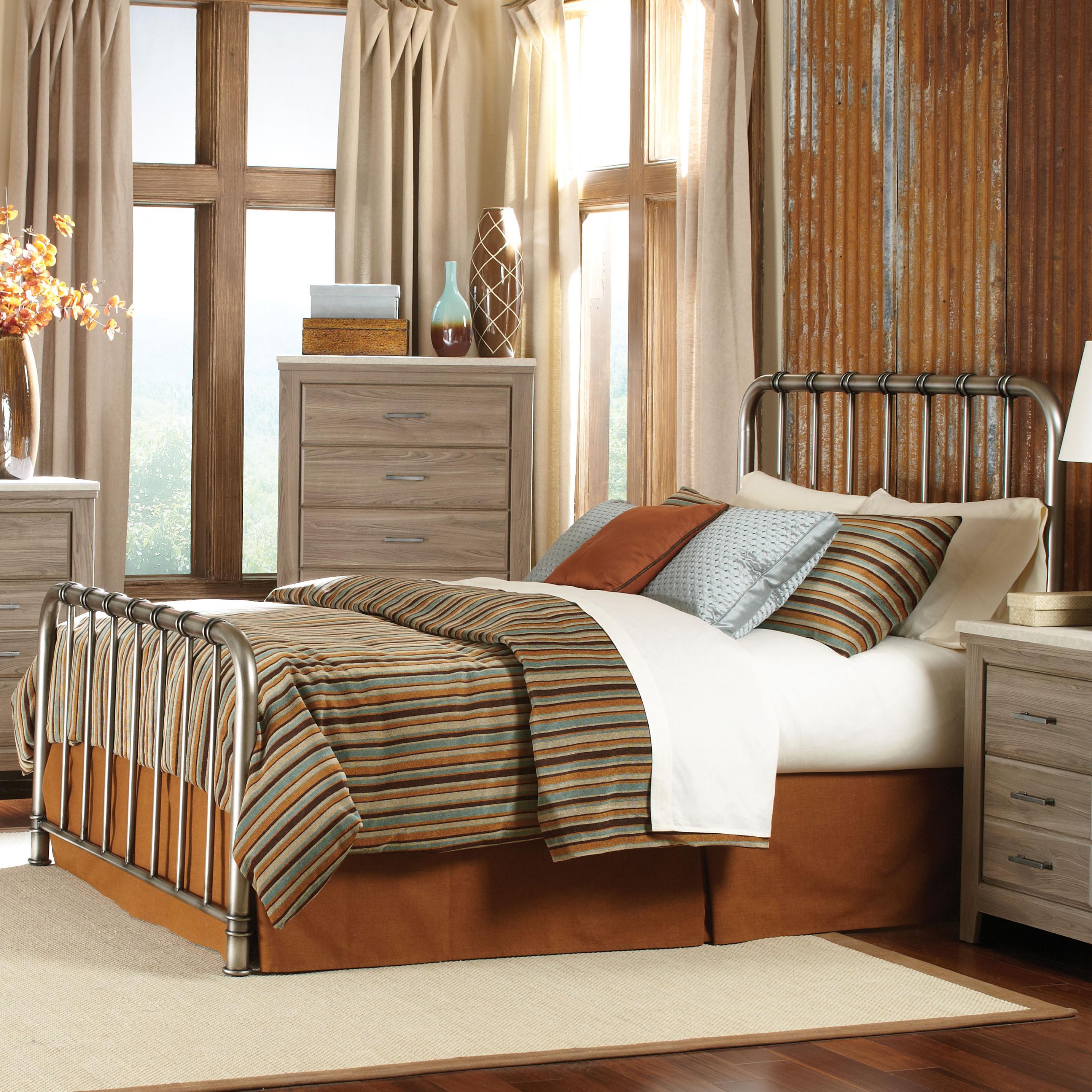 Standard Furniture Stonehill Full Metal Bed - Item Number: 87511+12