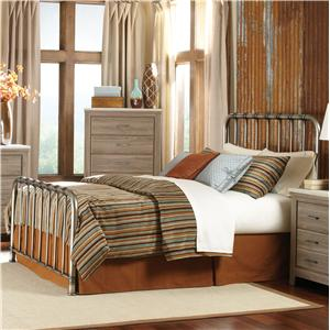 Standard Furniture Stonehill Queen Metal Bed