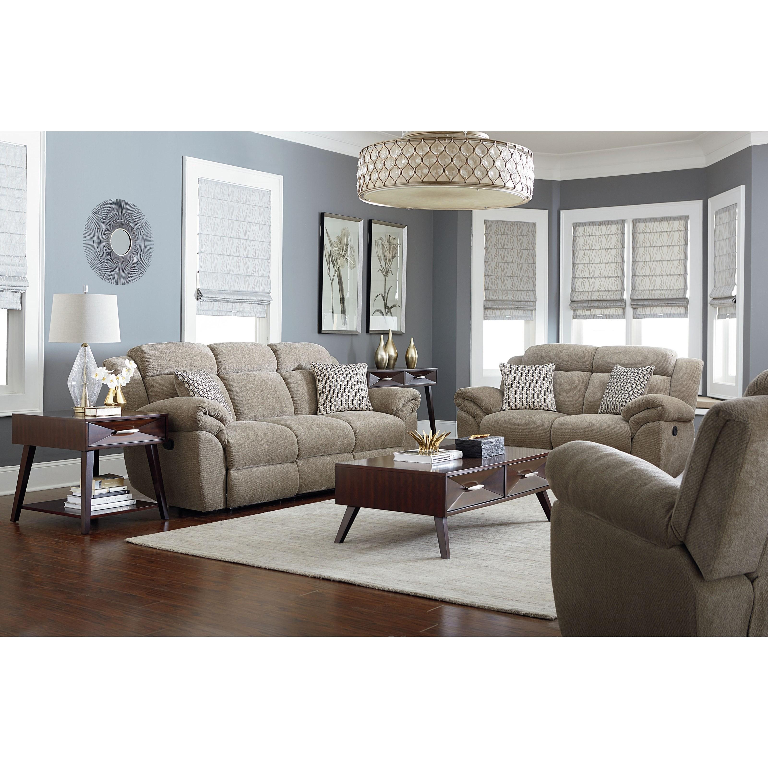Standard Furniture Sweeney Casual Reclining Living Room