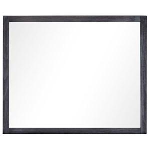 Standard Furniture Thomas Black Mirror - 86108