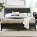 Standard Furniture Thomas Black Queen Panel Bed - Item Number: 86101+03+02