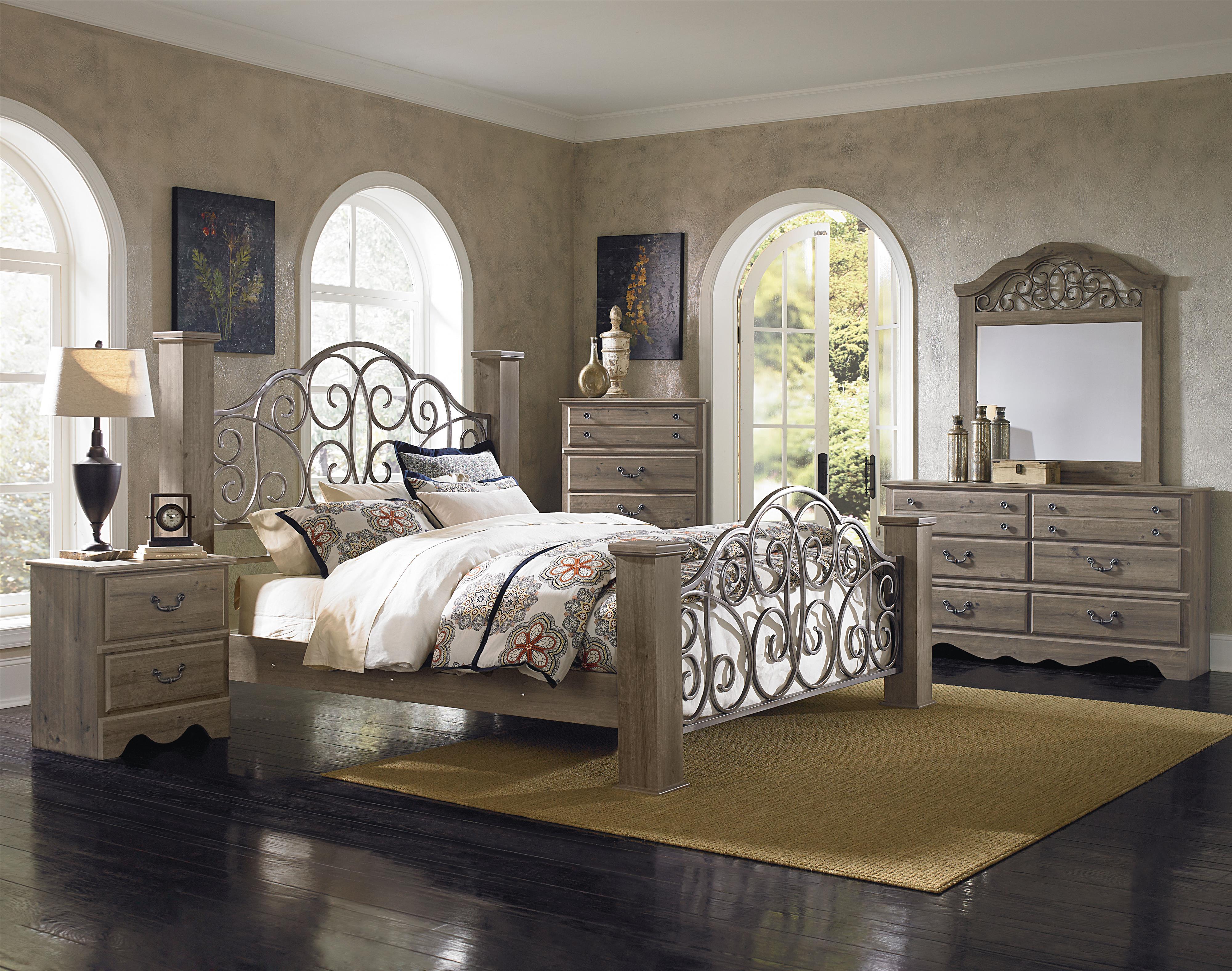 Standard Furniture Timber Creek Queen Bedroom Group Item Number 52650 Q 1