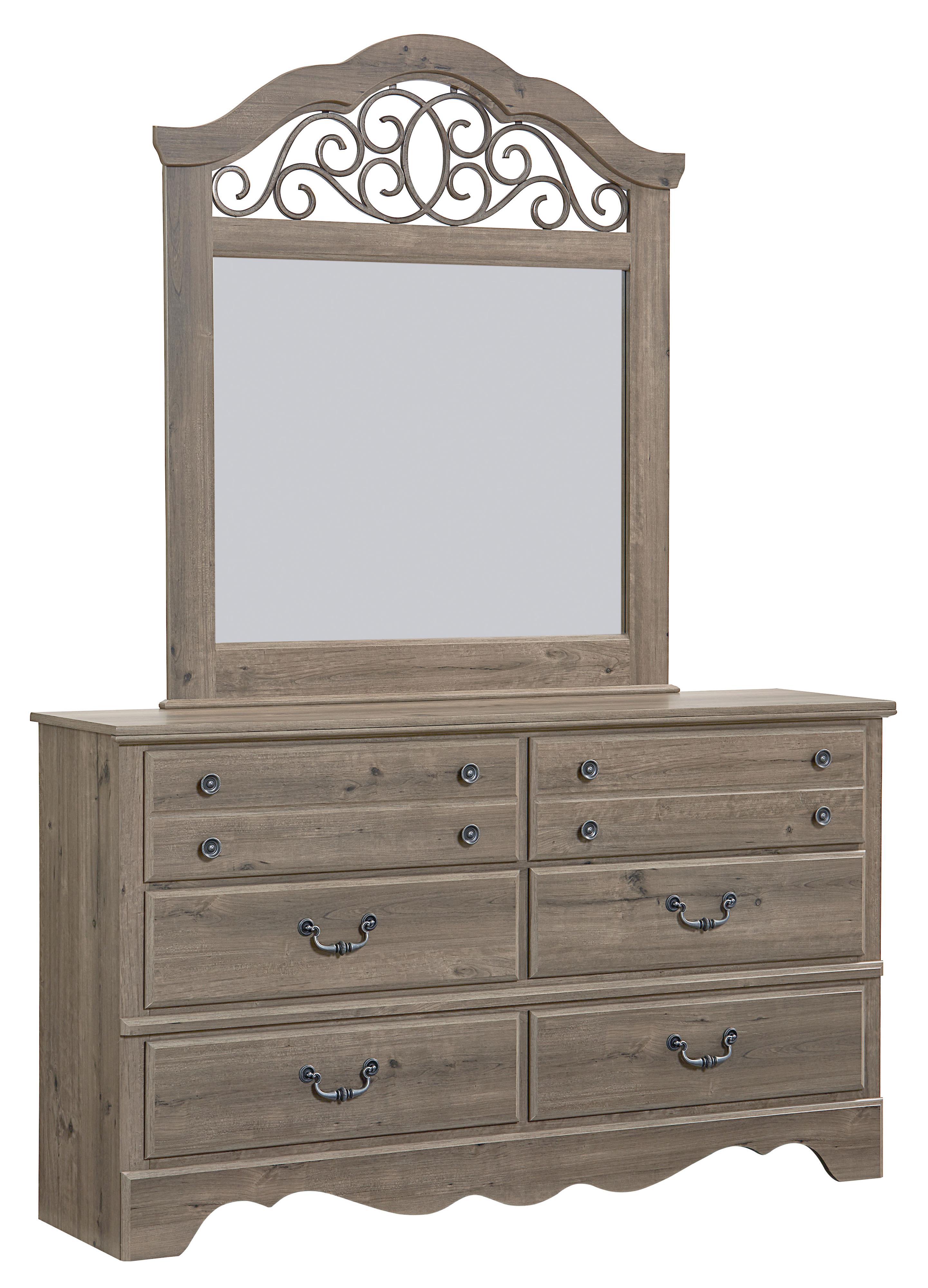 dealer lang and ahfa black mirror bla products drawer set framed earth locator dresser item