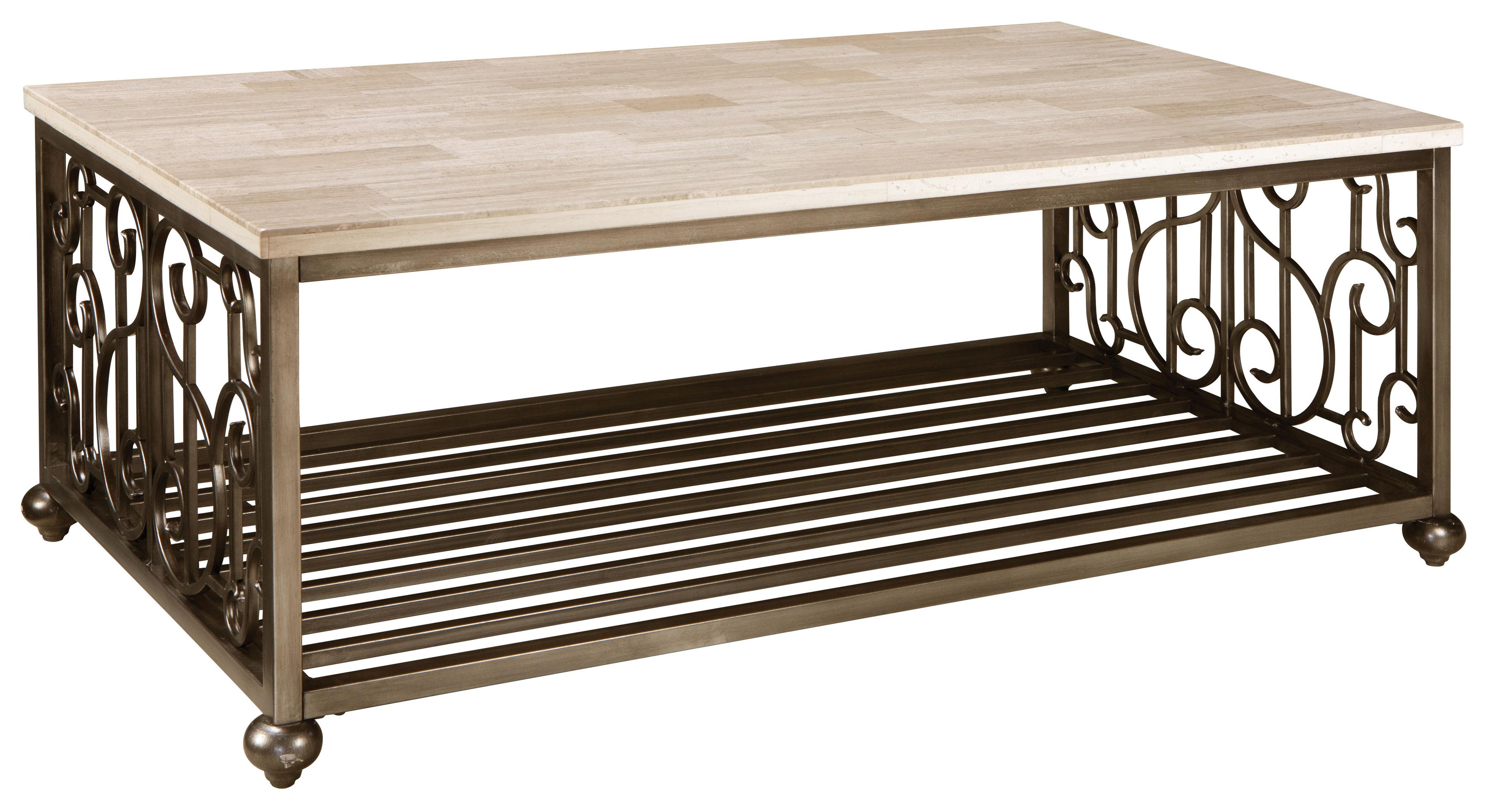 Standard Furniture Toscana  Rectangular Cocktail Table - Item Number: 27411