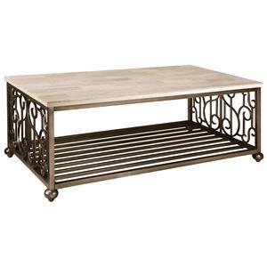 Standard Furniture Toscana  Rectangular Cocktail Table