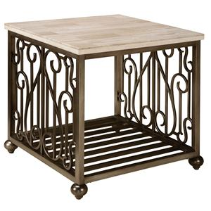 Standard Furniture Toscana  Square End Table