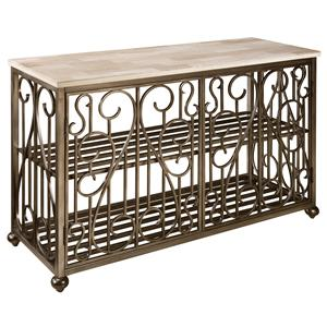 Standard Furniture Toscana  Console Table