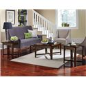 Standard Furniture Townhouse 3 Piece Occasional Table Set