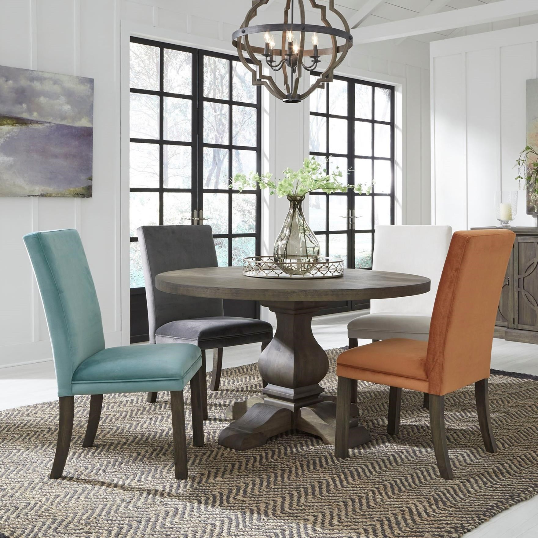Standard Furniture Trenton Casual Five Piece Dining Set
