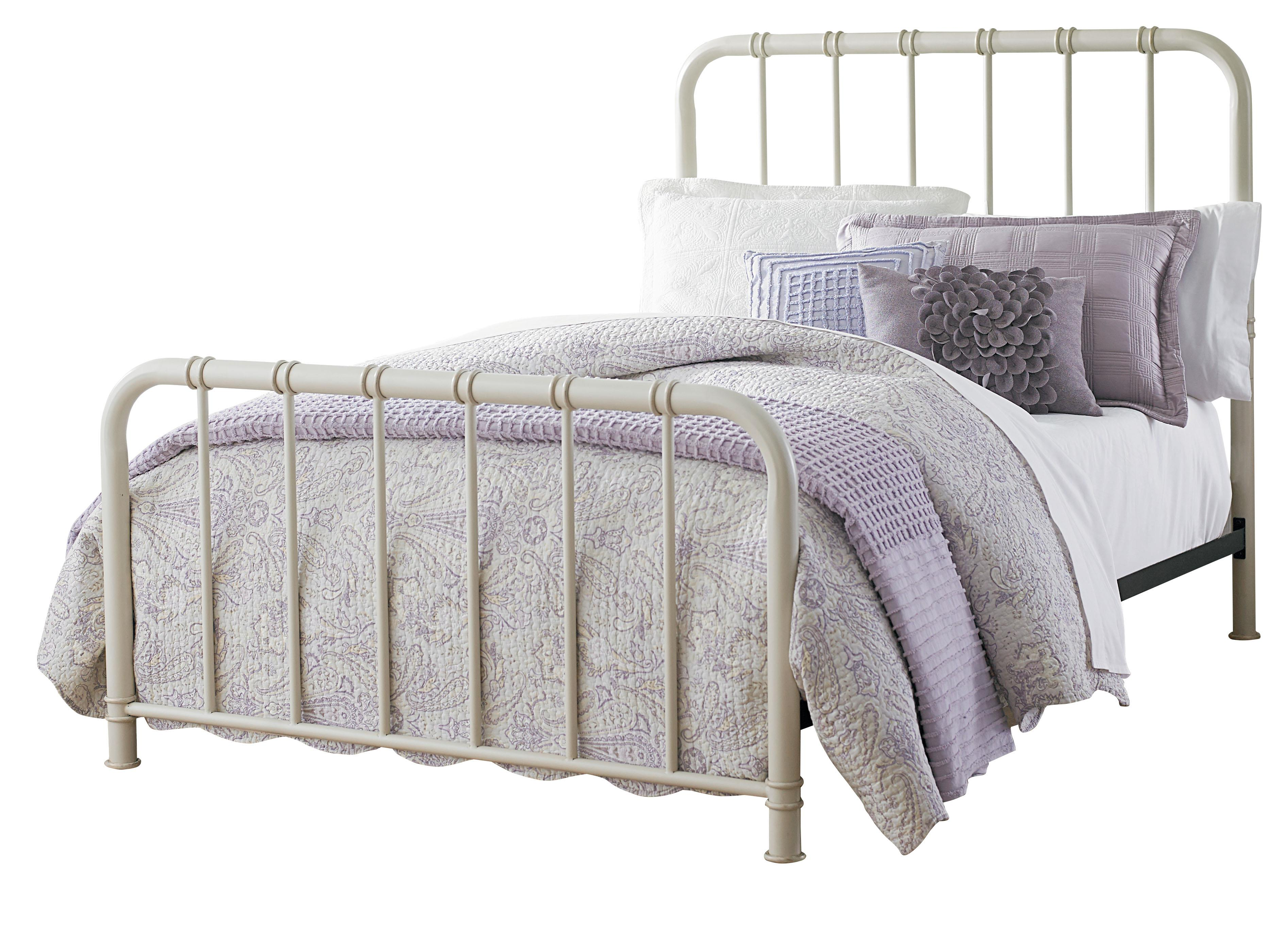 Standard Furniture Tristen Queen Metal Bed With Tubular