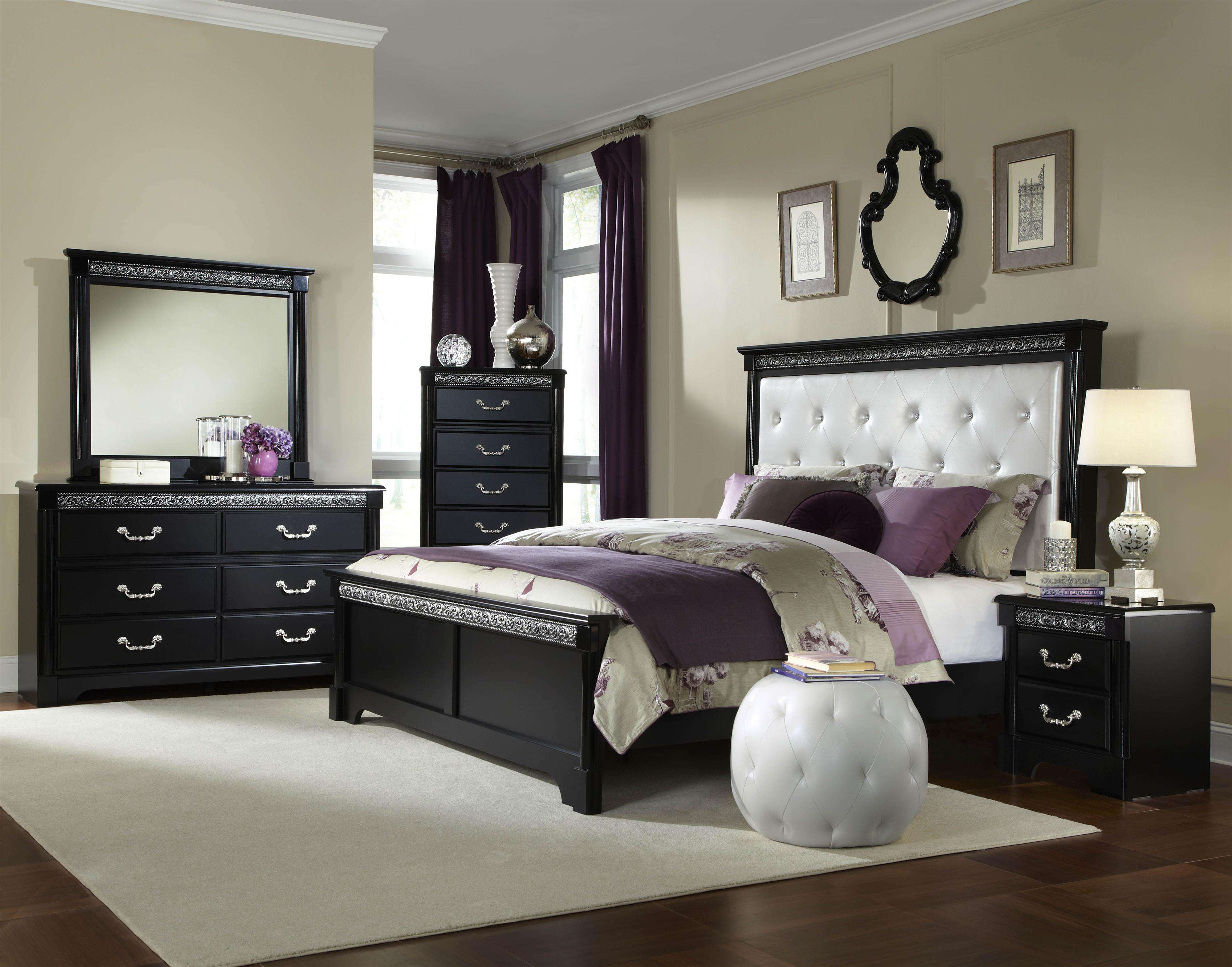 Standard Furniture Venetian Queen Bedroom Group  - Item Number: 69250 Queen Bedroom Group 1