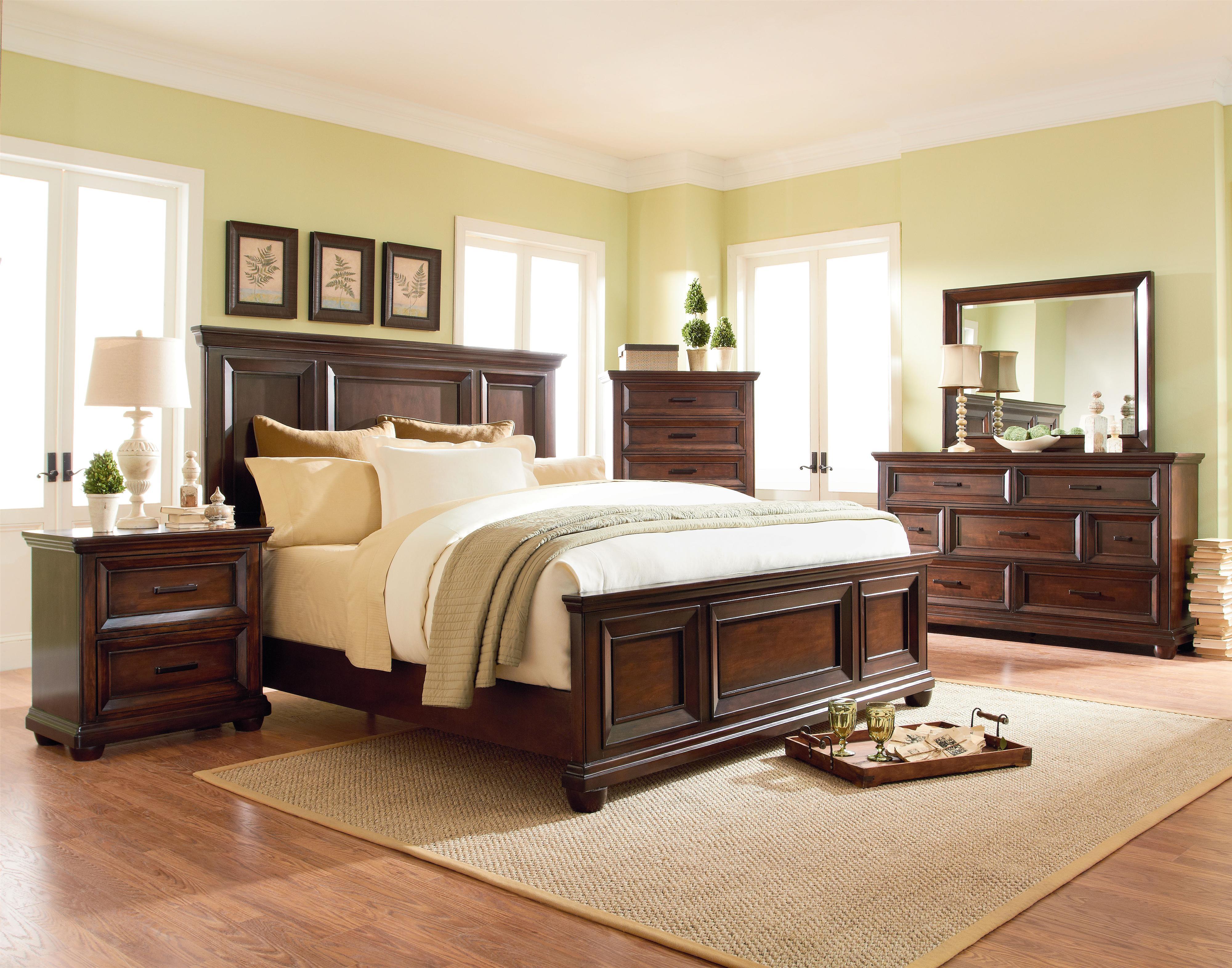 Standard Furniture Vineyard King Bedroom Group - Item Number: 877 King Bedroom 1