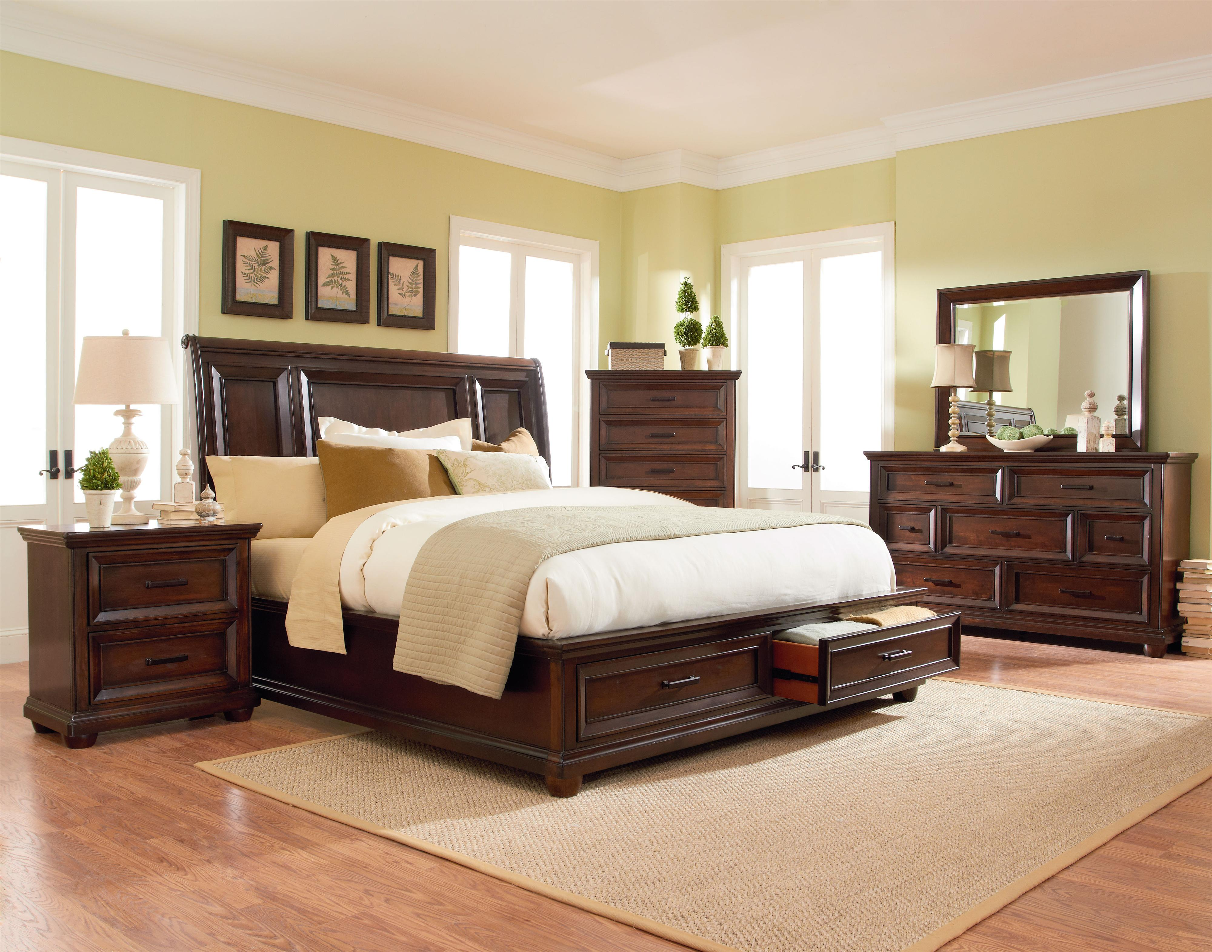 Standard Furniture Vineyard Queen Bedroom Group - Item Number: 877 Queen Bedroom 2
