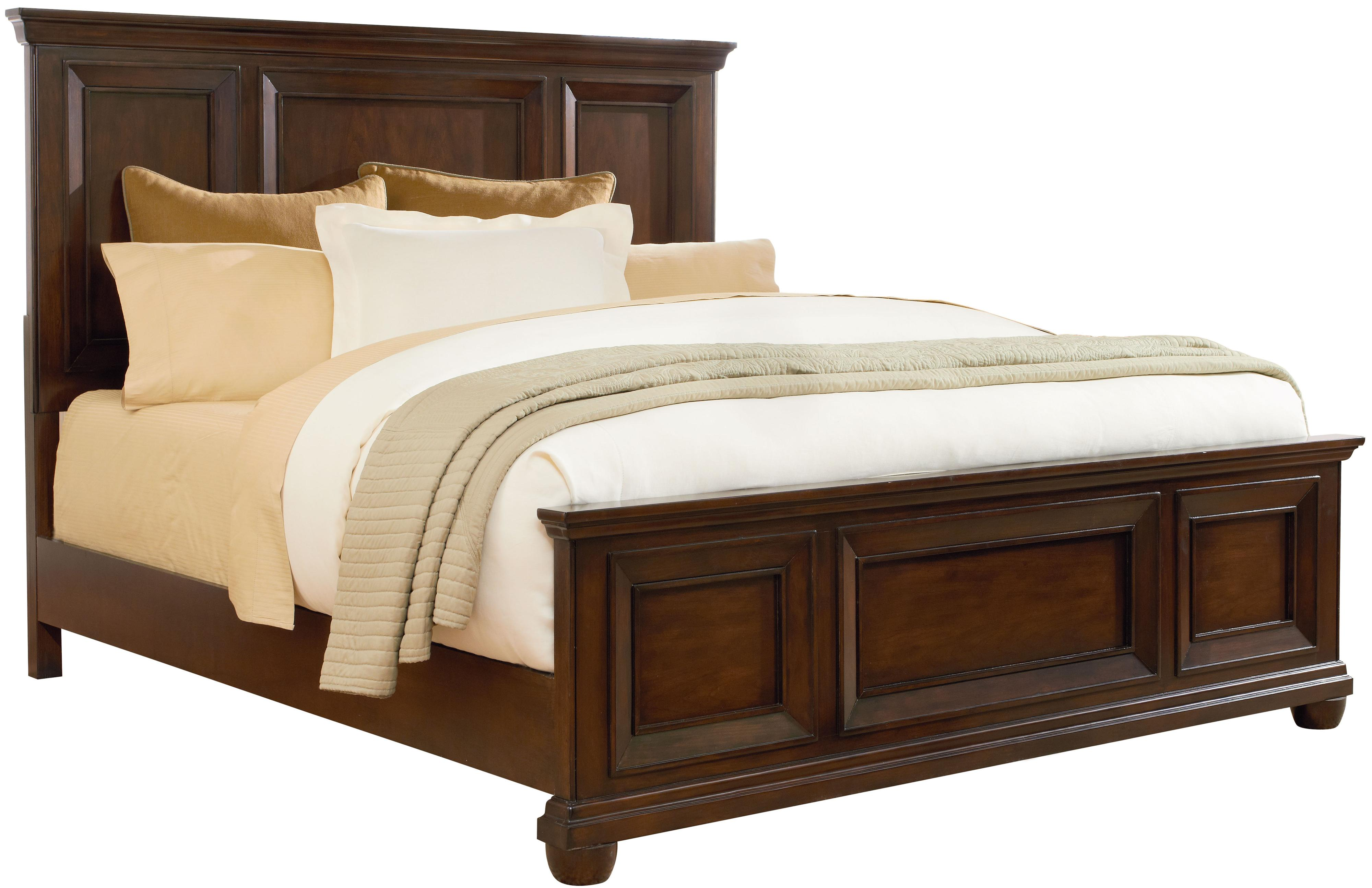 Standard Furniture Vineyard Queen Panel Bed - Item Number: 87721+87723+87722