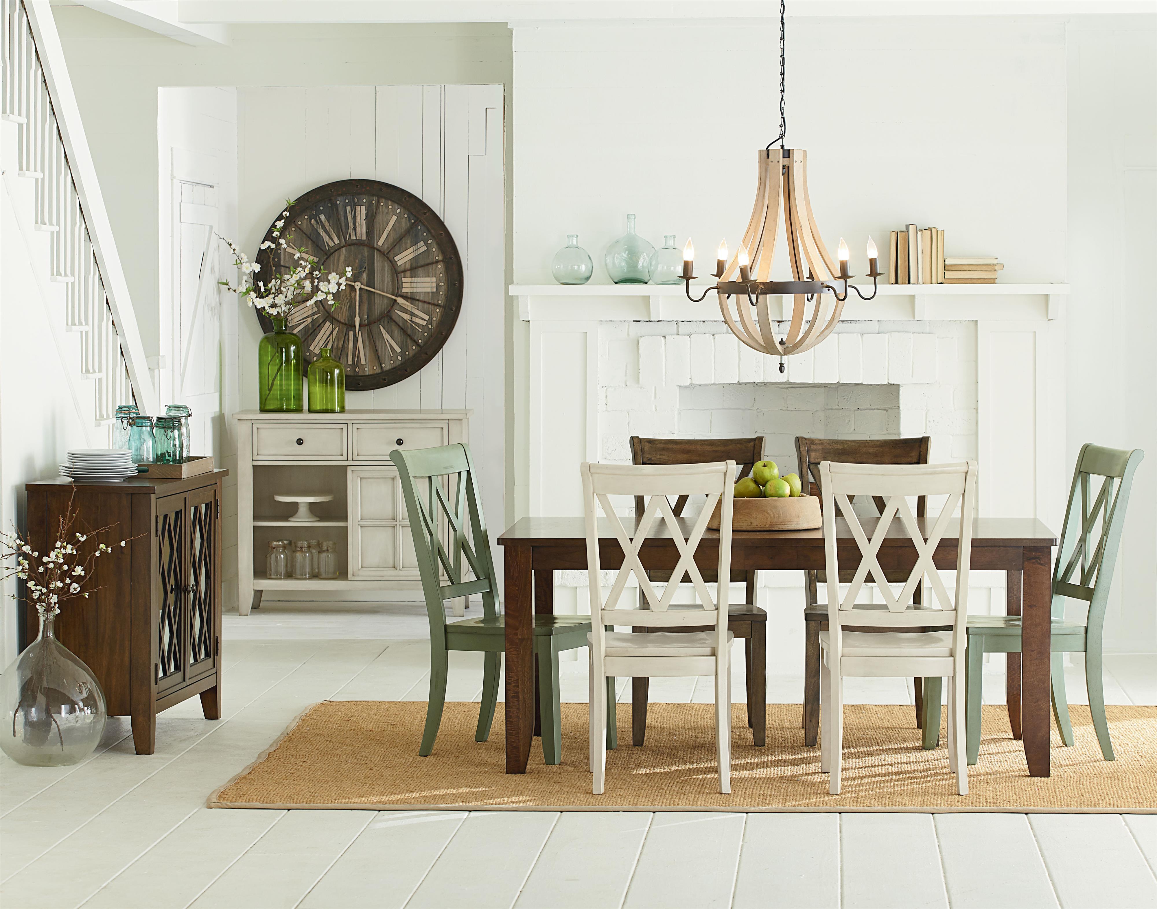 Standard Furniture Vintage Dining Room Group - Item Number: 11300 Dining Room Group 6