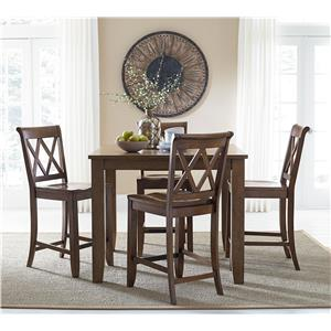 Standard Furniture Vintage Counter Height Dining Set