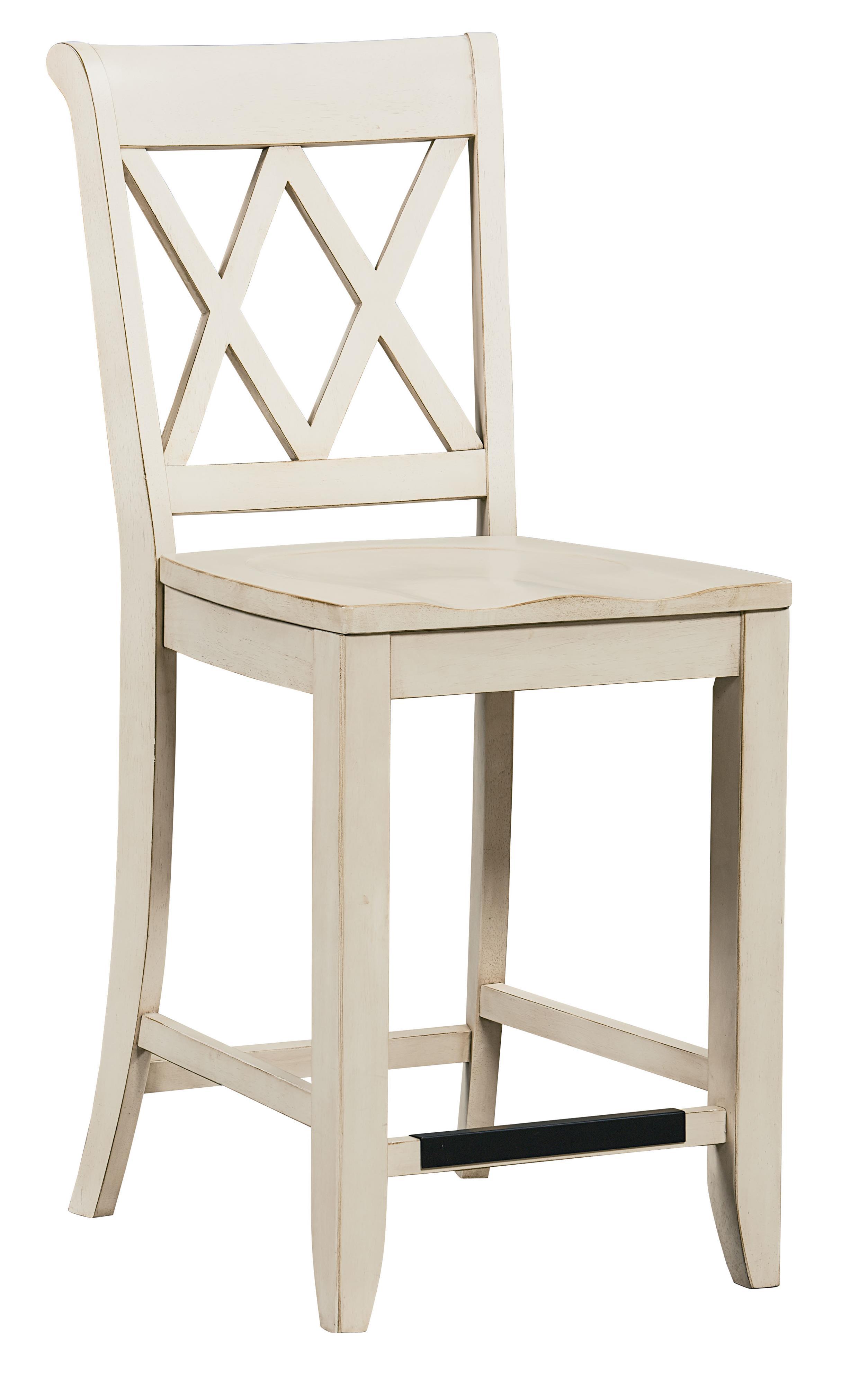 Standard Furniture Vintage Vanilla Counter Height Stool