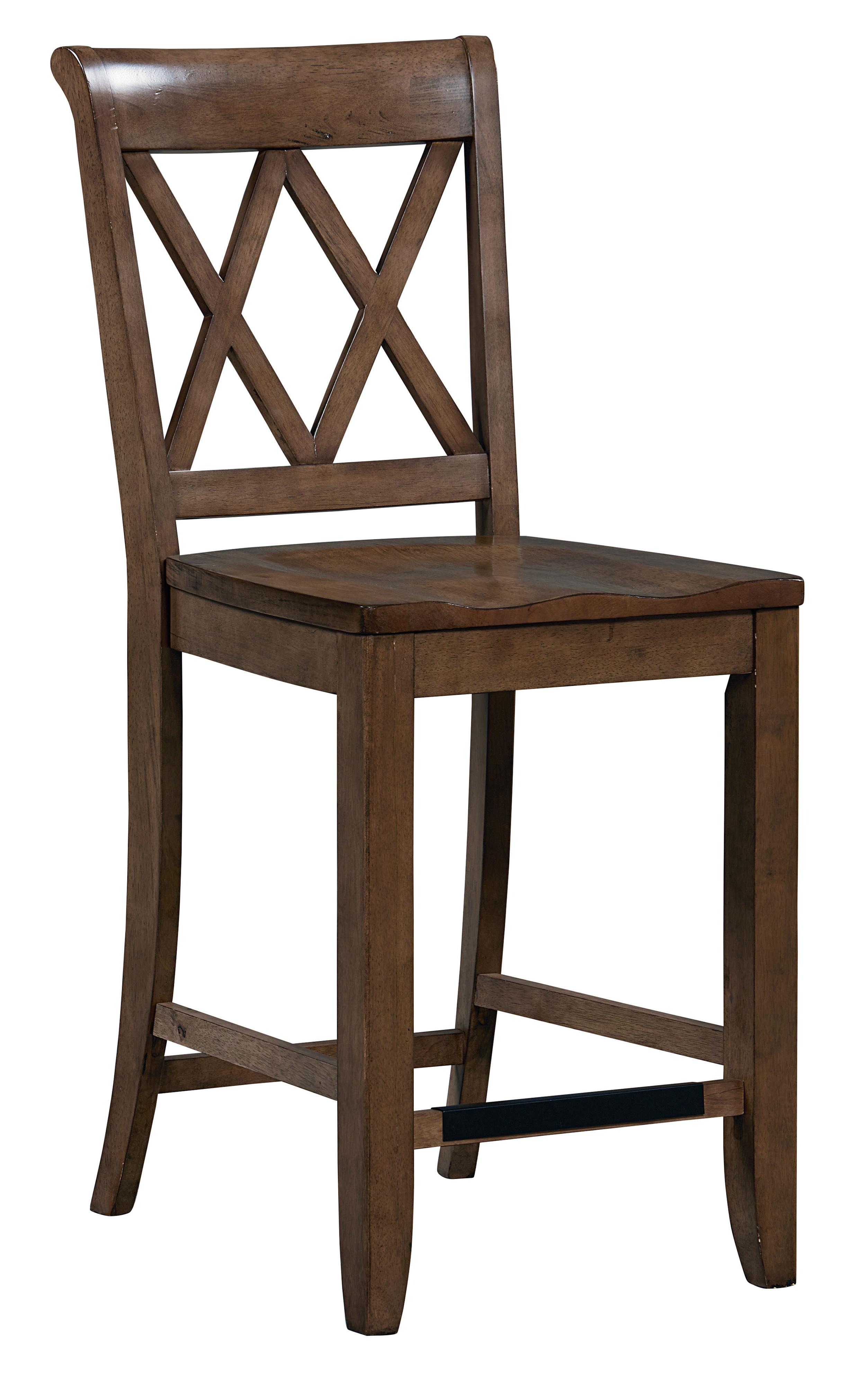 Standard Furniture Vintage Counter Height Dining Set With