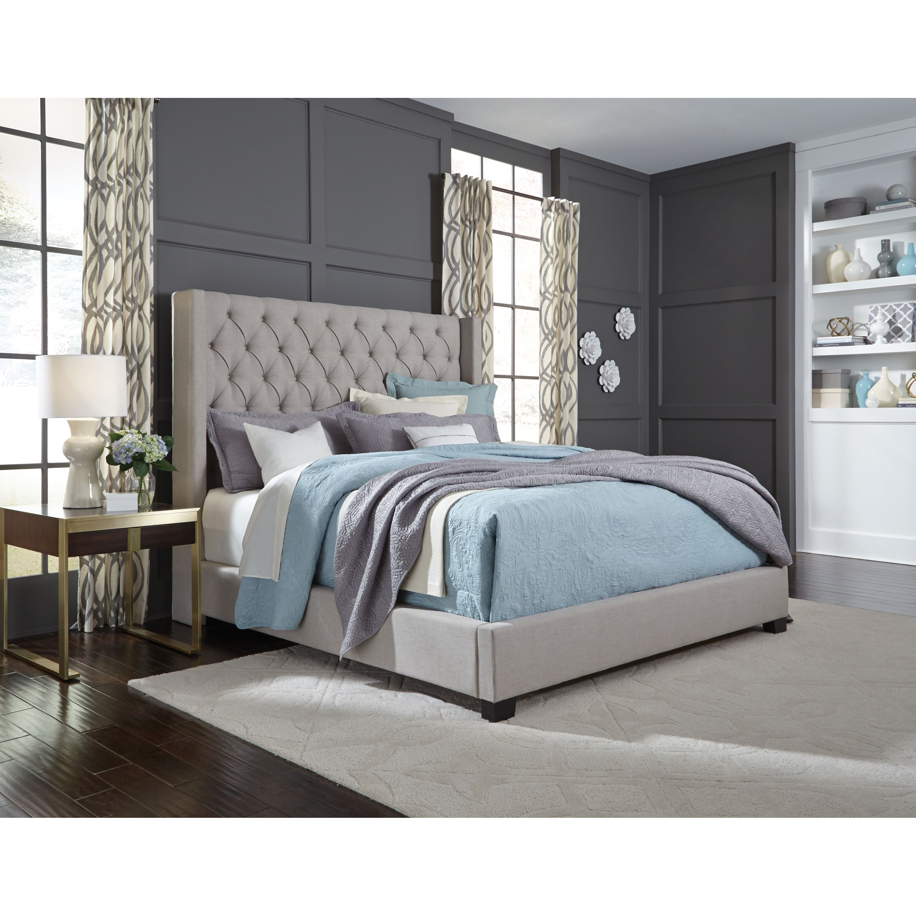 Macys Furniture Stores Locations: Standard Furniture Westerly 94271 Queen Upholstered Bed