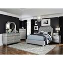 Standard Furniture Windsor Silver Queen Bedroom Group - Item Number: 83700 Q Bedroom Group 2