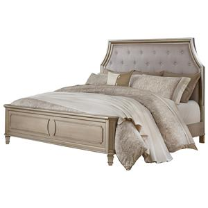 Standard Furniture Windsor Silver King Bed