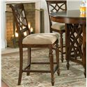 "Standard Furniture Woodmont 24"" Stool - Item Number: 19194"