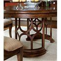 Stanley Furniture Archipelago Monserrat Round Pedestal Table & Leaf - 186-11-30