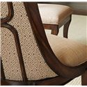 Stanley Furniture Archipelago Upholstered Bequia Host Chair - 186-11-75 - Contrasting fabrics are indicative of Archipelago\'s unique style statement.