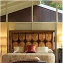 Stanley Furniture Archipelago Queen Calypso Panel Headboard with Walnut Burl Inlay