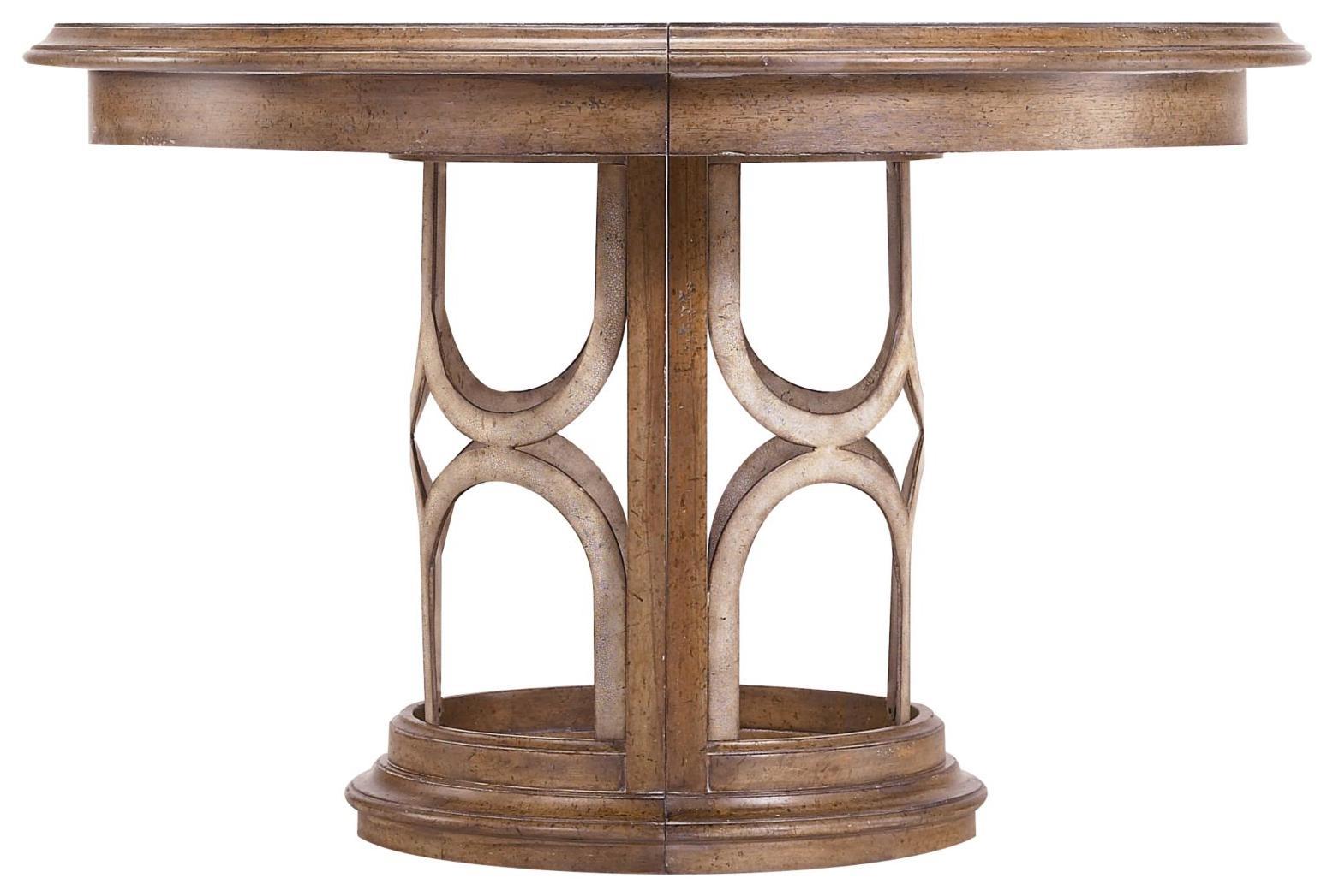 Stanley Furniture Archipelago Monserrat Round Pedestal Table - Item Number: 186-61-30
