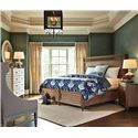 Stanley Furniture Archipelago Ripple Cay Night Stand - 186-63-82 - Shown with Ripple Cay Dressing Chest, Moor Island Ring Mirror, and Nevis Woven Bed