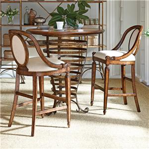 Stanley Furniture Arrondissement 3-Piece Brasserie Pub Table Set