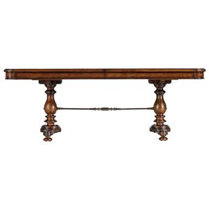 Stanley Furniture Arrondissement Famille Pedestal Table