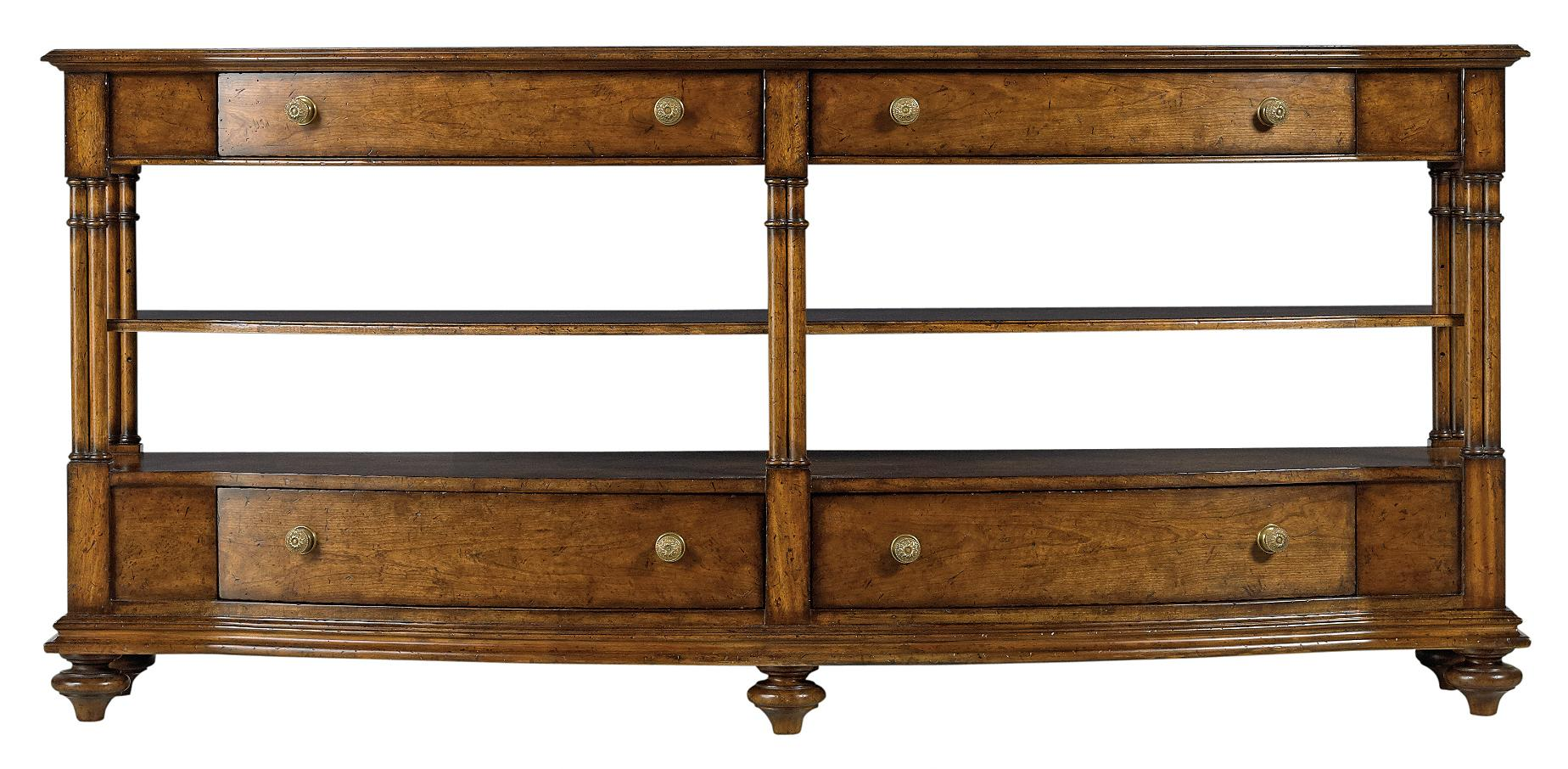 Stanley Furniture Arrondissement Rond Media Console - Item Number: 222-15-30