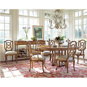 Stanley Furniture Arrondissement 7-Piece Tour Marais Table Set