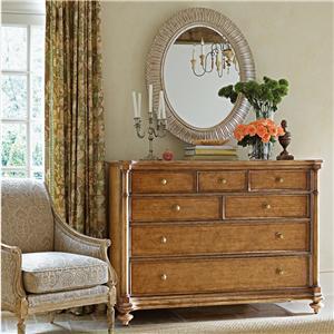 Stanley Furniture Arrondissement Belle Mode Dresser & Jardin Mirror