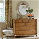 Stanley Furniture Arrondissement Belle Mode Dresser & Jardin Mirror - Item Number: 222-63-05+23-31
