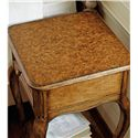 Stanley Furniture Arrondissement Arche Telephone Table with Mappa Burl Inlay