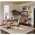 Stanley Furniture Arrondissement Classique Credenza with Locking File Drawer & 2 Pull-out Surfaces - 222-65-42