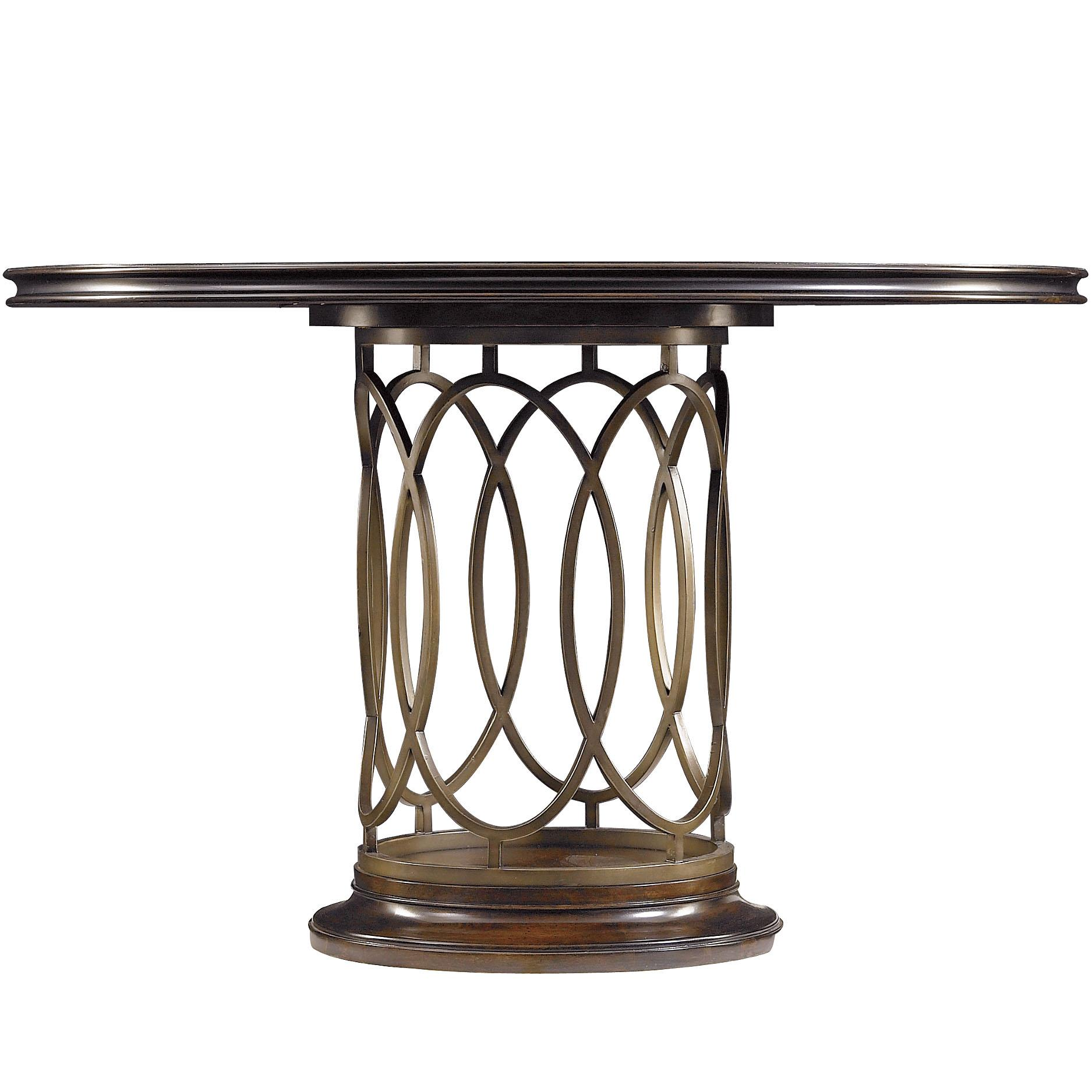 Stanley Furniture Avalon Heights Neo Deco Pedestal Table - Item Number: 193-11-30