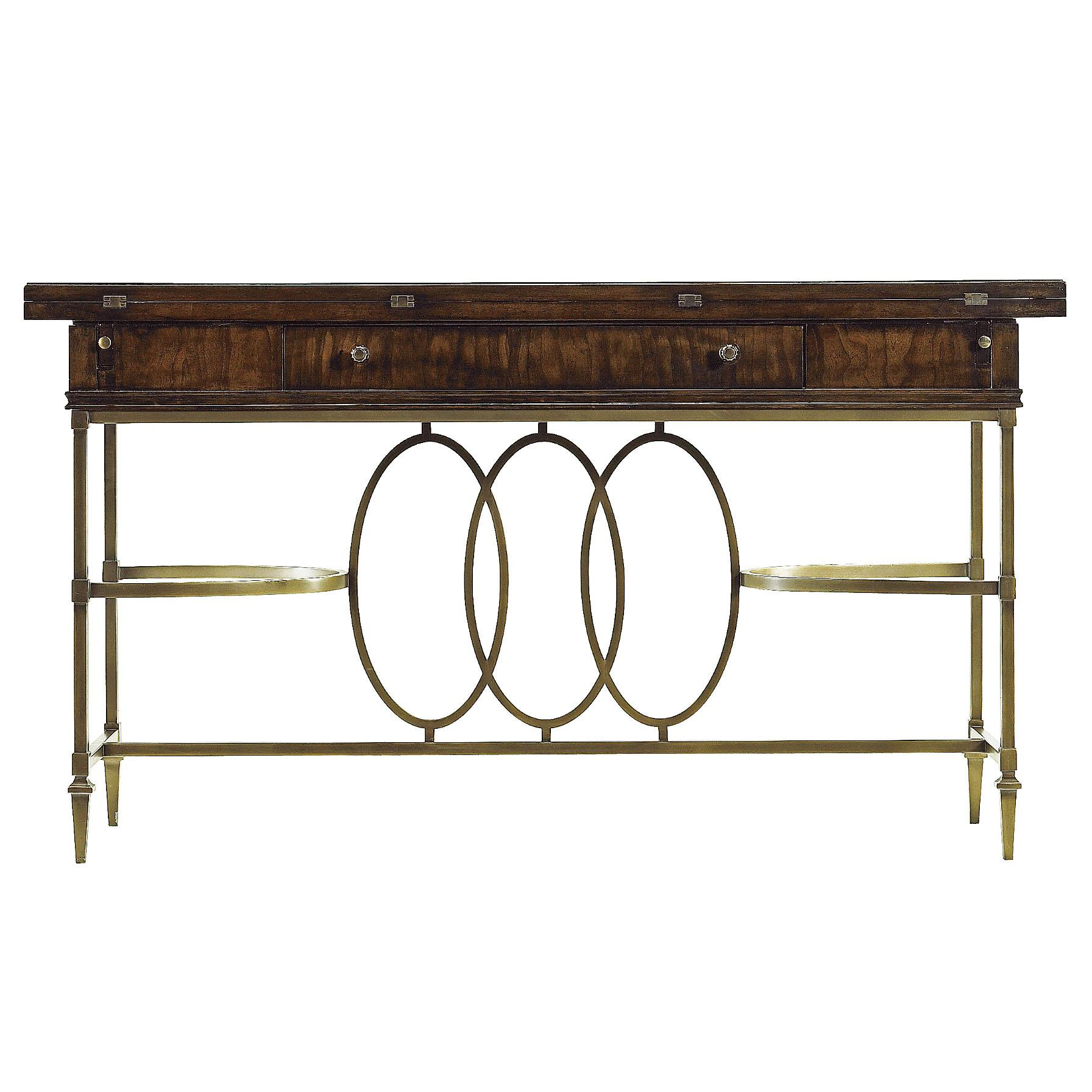 Stanley Furniture Avalon Heights Neo Deco Flip Top Console Table - Item Number: 193-15-06
