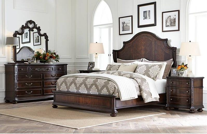 Stanley Furniture Casa D'Onore California King Bedroom Group - Item Number: 443 CK Bedroom Group 1