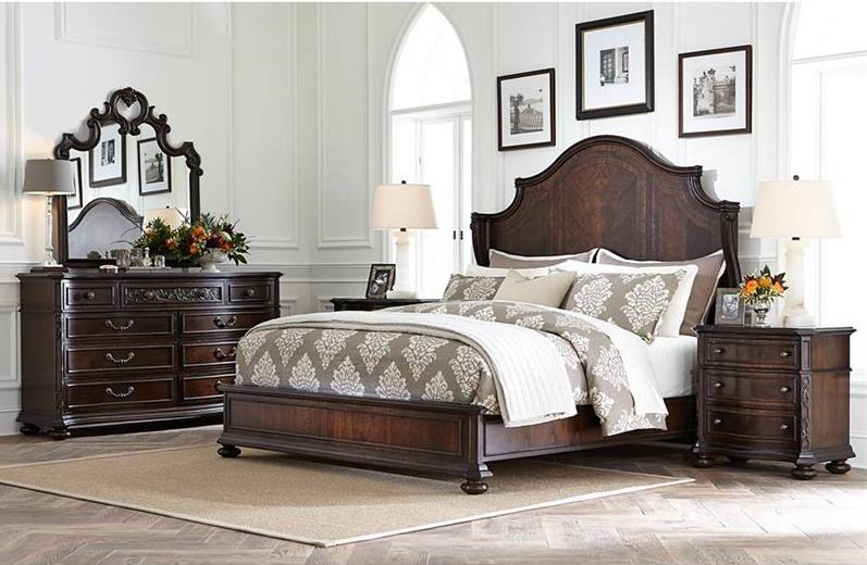 Stanley Furniture Casa D'Onore King Bedroom Group - Item Number: 443 K Bedroom Group 1
