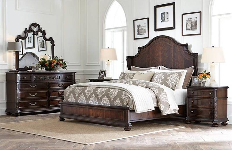 Stanley Furniture Casa D'Onore Queen Bedroom Group - Item Number: 443 Q Bedroom Group 1