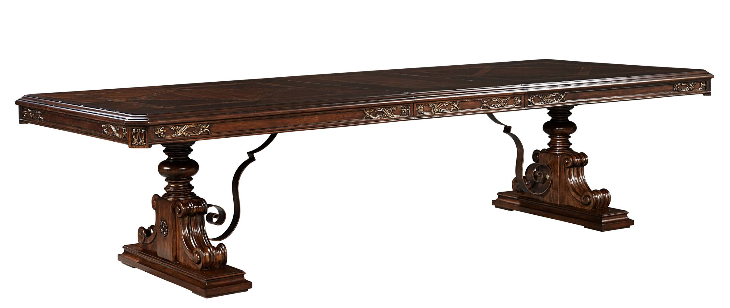Stanley Furniture Casa D'Onore Trestle Table  - Item Number: 443-11-36