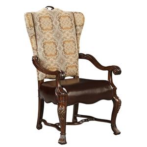 Stanley Furniture Casa D'Onore Upholstered Arm Chair