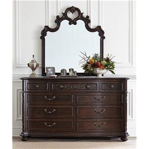 Stanley Furniture Casa D'Onore Formal Dresser & Mirror